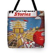 Science Fiction Cover, 1934 Tote Bag