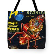 Science Fiction Cover 1939 Tote Bag