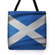 Scottish Flag Tote Bag