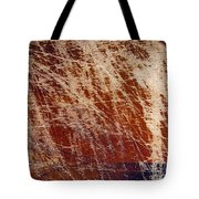 Scratched Wood Texture Tote Bag