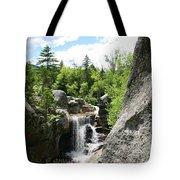 Screw Auger Falls At Grafton Notch State Park  Tote Bag