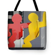 Sculptures On State Street Tote Bag