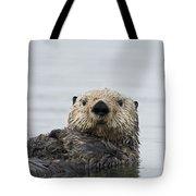 Sea Otter Alaska Tote Bag