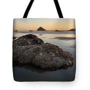 Sea Stacks At Sunset Tote Bag