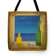 Sea View Two Tote Bag