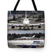 Seahawks 747 Tote Bag