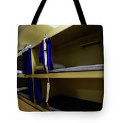 Seaman Lockers And Bunks Aboard Uss Tote Bag