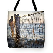 Seaside Nets Tote Bag