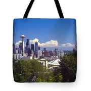 Seattle City View Tote Bag