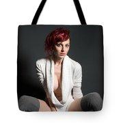 Semi-nude Portrait Tote Bag