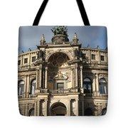 Semper Opera Dresden Germany Tote Bag