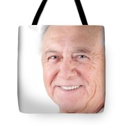 Senior Citizen Man Tote Bag