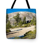 Sentinel Dome From Sentinel Dome Trail In Yosemite Np-ca  Tote Bag
