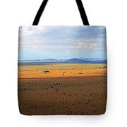 Serengeti Landscape Tote Bag