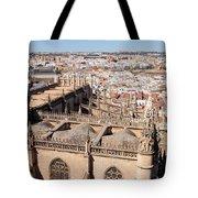 Seville Cityscape Tote Bag