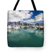 Seward Harbor Tote Bag