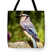 Shades Of Blue Tote Bag by Lori Tambakis
