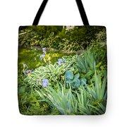 Shady Garden Tote Bag