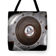 Shelby Cobra Steering Wheel Emblem Tote Bag