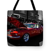 Shelby Gt 500 Mustang Tote Bag
