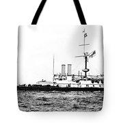 Ships Hms 'victoria Tote Bag