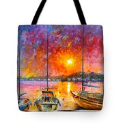 Ships Of Freedom Tote Bag