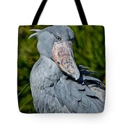 Shoebill Stork Tote Bag