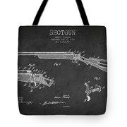 Shotgun Patent Drawing From 1918 Tote Bag