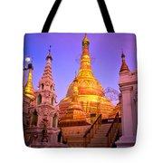 Shwedagon Paya - Yangoon Tote Bag