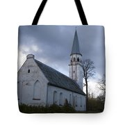 Sigulda Church Tote Bag