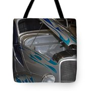 Silver Flame Tote Bag