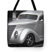 Silver Ford Tote Bag