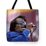 Singer James Brown Tote Bag