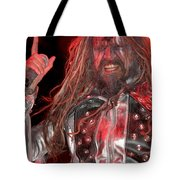 Singer Rob Zombie Tote Bag