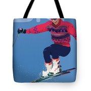 Ski 3 Tote Bag