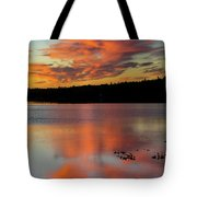 Skilak Lake, Alaska, The Aleutian Tote Bag