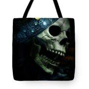 Skull In Crown Tote Bag
