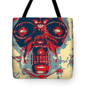Skull In Hope Tote Bag
