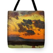 Sky At Sunset Jamaica West Indies Tote Bag