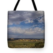 Sky City Tote Bag