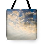 Sky With Clouds Tote Bag