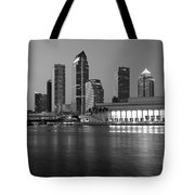 Skyline Of Tampa Along Waterfront Tote Bag