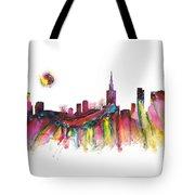Skyline Warsaw Tote Bag