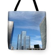 Skyscrapers Tote Bag