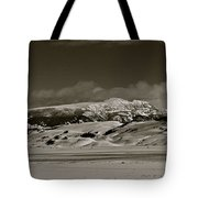 Sleeping Indian Tote Bag
