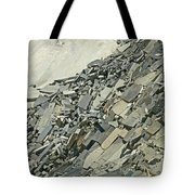 Slipping And Sliding Tote Bag