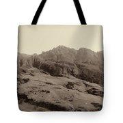 Slope Of Hills In The Scottish Highlands Tote Bag