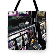 Slot Machines At An Airport, Mccarran Tote Bag