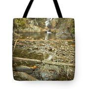 Smalls Falls In Autumn Western Maine Tote Bag