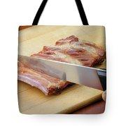 Smoked Pork Ribs Tote Bag